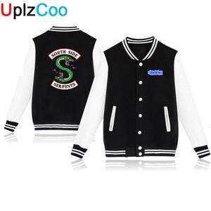 Hip UplzCoo Мужчины Женщины Бейсбол куртки осень зима вскользь Outerwears молодых мальчика Кофты 4XL OA024