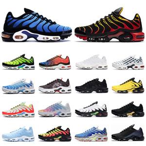 2020 nike TN air max plus shoes hommes femmes des chaussures de course Gradient Noir Rouge Hyper Ciel Supernova triple blanc Scream Green Rainbow mens formateurs baskets de sport