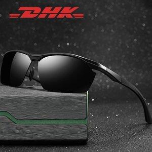 Brille DHK Aluminium-Magnesium-Halbrahmen Männer polarisierten cycling Sonne 8673 YDPyq Sonnenbrille neue Sonnenfahrrad