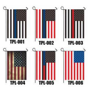 Trump Флаг 30 * 45см Президент сад Флаги Keep America Great Banners Односторонний США Избирательного Отечественного украшения Баннер морского судно GGA3686