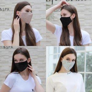 Fai da te cristallo strass maschera veneziana mascherine di travestimento sexy delle donne Eyemask metallo Wedding Hen Night Party Mask puntelli regalo di Natale # 169