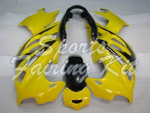 Кузовные для GSX750 2005 - 2006 Katana Yellow Black Body Kits GSX600F 05 обтекателя Kits GSX600F 05