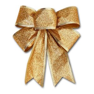 Hot Sales Bows Bowknot Christmas Tree Party Gift Present Xmas Decoration New