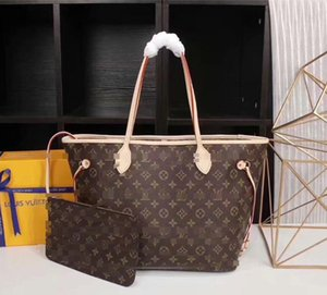 Mulheres de couro sacos de compras mulheres Bolsas + Carteira de ombro sacos de compras sacolas bolsa carteira bolsaLVLOUISVUITTON