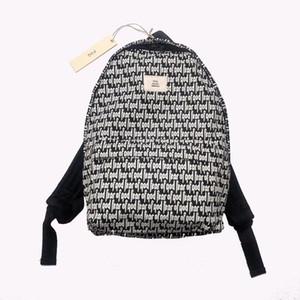 FEEAR OFF GOOD ESSENTIALS Full Letter Printing Backpack Fashion High Street BAG Couple Women Mens Bags HFXHBB004