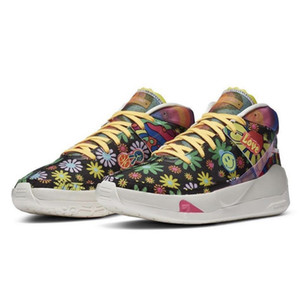 الرجال رخيصة KD الجديد 13 أحذية كرة السلة EP كيفن دورانت للبيع من السهل المال قناص بليتش EYBL فونك الدعاية البرد أحذية رياضية ولدت محل لبيع الاحذية للتنس