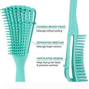 Detangling Brush for Natural Hair, Hair Detangler Brush for Afro America 3a to 4c Kinky Wavy, Curly, Coily Hair, Detangle Easily