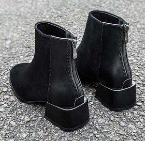 Adicionar boxQuality Botas Sapato Casual Tornozelo Botas Sapatos huaraches flip flops preguiçosos Scuffs Para Mulher Botas Roman shoe10 p13