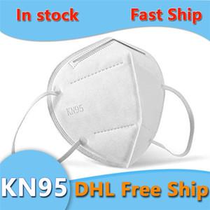 На складе Одноразовая маска Нетканые маски ткани пылезащитный ветрозащитный Респиратор Anti-Fog пыле Открытый РМ2,5 маска DHL Доставка
