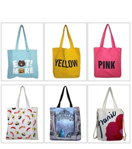 2020 Canvas Cotton Bags Organic Heavy Canvas Candy Book Students Shopping School bag