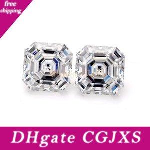 Grown Lab gioielli diamante di alta qualità a buon mercato Def bianco 7x7mm Asscher Cut Loose Moissanite pietra preziosa del diamante