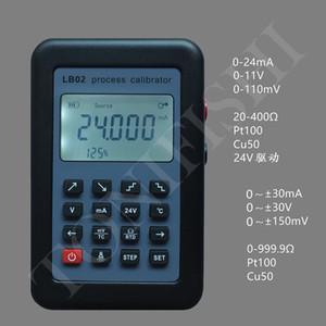 LB02 Сопротивление тока Вольтметр генератор сигнала источника калибратор 4-20 мА / 0-10 / мВ ЖК-дисплей Обновление от LB01