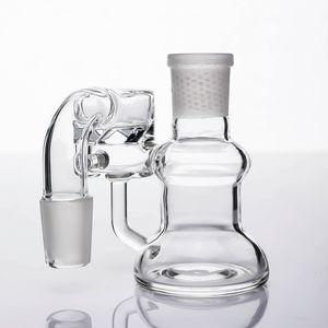 Prim Cam Yüksek Quility Temizle Cam Kuru Kül Catcher cam kule fabrika fiyatı doğrudan dağıtım fiyatı temizlenmesi kolaydır