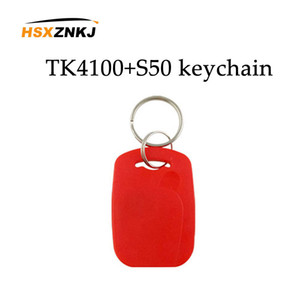10 / lots Read-only Tag NFC Key Multifrequenz-RFID 125kHz EM4100 TK4100 Chip + 13,56 MHz Frequenz Ic S50 Access Card
