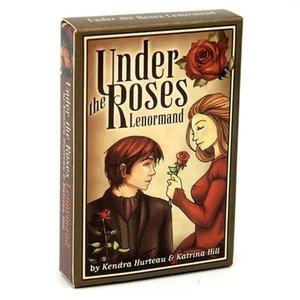 Bajo Junta Tarot completo de Oracle The English Roses Tarjetas Lenormand cubierta Familia 39 Misteriosa Partido adivinación juego divertido WbMFM lucky2005