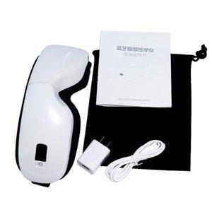 Pantalla gafas de masaje Con HD Máscara Presoterapia acupuntura masaje climatizada vibración ocular con la música de Bluetooth Relajación Salud