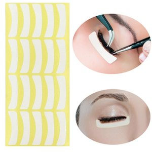 100Pairs / Set pestana Extensão Hidrogel Sob Gel Eye Mask remendo adesivo Tape Plantio transplantado pestana Maquiagem lsolation Pad