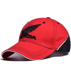 Honda Outdoor-Sport für Erwachsene Radfahren Outdoor-Sport Baseball Spitzbaseballmütze Schirmmütze