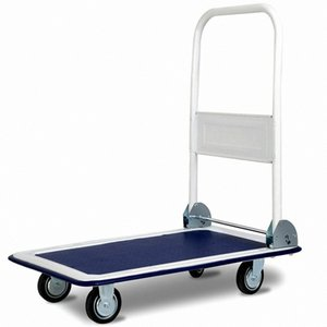 330lbs Platform Cart Dolly Folding Foldable Moving Warehouse Push Hand Truck New eAOy#