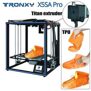 Printer TRONXY X5SA Pro industrial 3D Ultra Silencioso Motherboard Titan Extrusora automaticamente Kit Printer Nivelamento DIY Desktop 3D