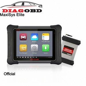 Función de Autel Elite MaxiSys completa OBD2 Trabajar con un SAE J2534 1 2 Cumple vehículo Programación Pass Thru interfaz Qm4p #