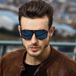 Shades Sun Fashion Polarized Sunglasses Classic Gafas Driving Eyewear Design Brand Retro Vintage Glasses Men UV400 Hrgsl
