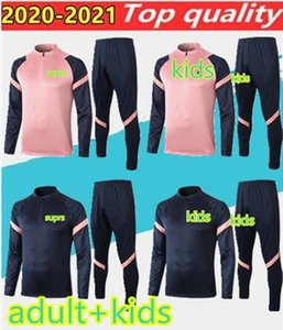 2020 adult+kids Spurs niños de la chaqueta de los muchachos Kane Bale formación trajes camiseta de fútbol Hijo niño manga larga chándal niños pre fútbol camisa del fósforo
