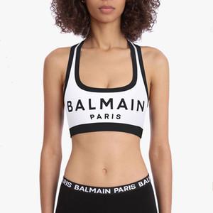Balmain Bayan İç Giyim Moda Örgü Erkekler Kadınlar Stilist Kadın Balmain Paris Stilist Bayan Giyim Boyut S-L Tops