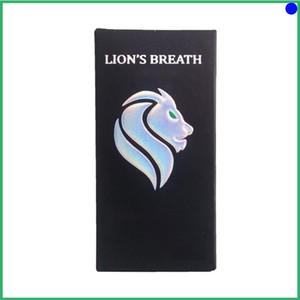 lions breath cartridge Atomizer Empty Vape Cart Ceramic Coil Vape Pen Glass Vaporizer Green lions breath cart High potency Packaging Tank