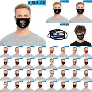 Máscaras Moda Trump cara por los hijos adultos se mantienen a América Gran reutilizable lavable Boca Máscara EE.UU. Presidente Elección Trump 2020 CYZ2660 Máscara
