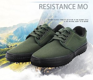 canvas flat low liberation shoe militry footwear camouflage combat vulcanized rubber sole shoes military training shoes labor insurance U016