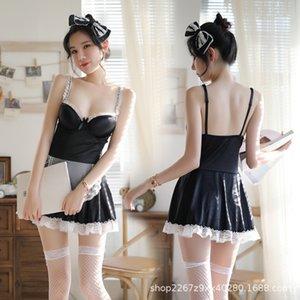 XC1UC servante costume fille étape vêtements de la scène sous-vêtements des femmes sexy tentation Underwear jeux de rôle vêtements sexy 2278