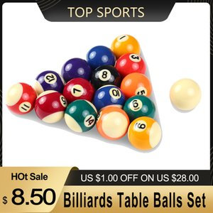 Snooker Bilardo Snooker Bilardo 25 / 32mm / 38MM Çocuklar Bilardo Masa Toplar Reçine Küçük Havuz Cue Toplar Tam Set