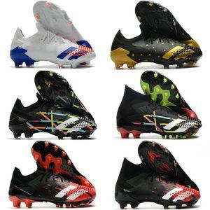 Soccer Cleats Mens Boys Messi Predator Mutator 20.1 20+ Low FG Soccer Shoes ART Unity in Diversity Football Boots botas de futbol