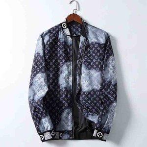 FF Мужчины Medusa куртки Мода длинным рукавом на молнии куртка Мода шаблон печати Slim Fit Ветровка мужская Antumn зима Outdoorwear ветровки