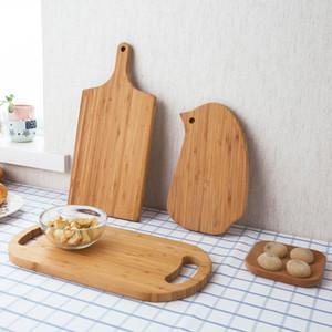 Épaissir Hachoirs en bois Cuisine fruits légumes repas Planche à découper en bambou Pizza Sushi pain Hacher Boards planche de bois de bambou
