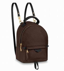Top-Qualität Frauen PU-Leder-Mini-Größe Frauen-Beutel-Kind-Schule-Beutel-Rucksack Federn Lady Bag Reisetasche Totes Handtaschen Sho