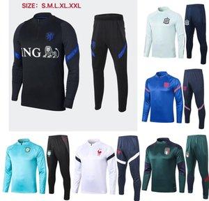Fransa ceket 20 21 Hollanda İtalya de fútbol milli takım STERLING RASHFORD Eğitim camisetas