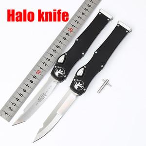 마이크로텍 자동 칼 150-10 HALO V 6 ELMAX 블레이드 알루미늄 합금 핸들 아웃 프런트 자동 전술 나이프