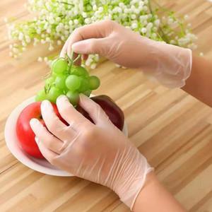 Trabalho Doméstico Unisex descartável de limpeza mecânico luvas de protecção de borracha nitrílica Waterproof Gloves Limpeza do Lar ferramenta fontes AHC1781