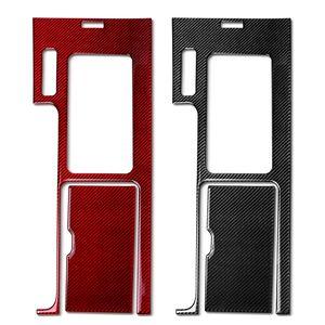 Kapak Panel Karbon Dişli 2009-2013 Kutu Araba Fiber Shift Ford İç Dekorasyon Konsolu Trim Sticker Center Mustang VIXTV