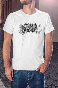 Morbid Angel Men White T-Shirt Death Metal Группа Napalm Death Некролог Street Plus Размер футболочку