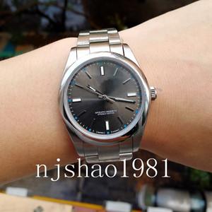 Männer Herren-Uhr Uhren Armbanduhr Perpetual New No Date Stahl 2813 automatische mechanische Bewegung
