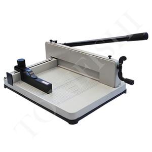 """12"""" Paper Trimmer Heavy Duty Industrial Guillotine 200 feuilles de coupe normale papier Largeur de coupe 31CM épaisseur 40 mm 858 A4"""