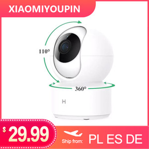 Versão global Imilab IP Camera Night Vision Smart Mihome App 360 graus WiFi Home Security Câmera 1080P Baby Monitor para Xiaomi