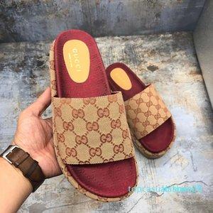 2019 aleta colorido novo estilo Mulheres 573018 slides sandália clássico moda Designer Ladies Red morango fracassos principais marcas populares com box7