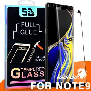 Cgjxs3d Full Glue Coverage Case Friendly Tempered Glass For Samsung Galaxy Note 10 S10 S9 S8 Plus S7 S6 Edge Curve Film Screen Protector Pac