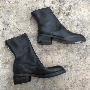 2020 Avustralya Kovboy Stil Vintage Martin Boots ile Geri Fermuar Yuvarlak Burun Yumuşak At Deri Ve Goodyear Craft Sole 796 Bilek Bottes