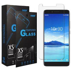 cgjxs telefono cellulare, vetro temperato per Cricket Icona Alcatel 3v 2019 Insight Avalon V Onyx 1x 2019 Revvl 2 Camox 3 5052w Verso Tetra Nokia 3 .1