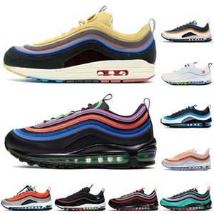 nike air max 97 airmax Chunky dunky 97 97s sean wotherspoon кроссовки женские мужские кроссовки уличные спортивные кроссовки
